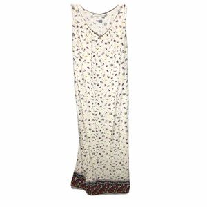 OLD NAVY Maternity white floral maxi dress